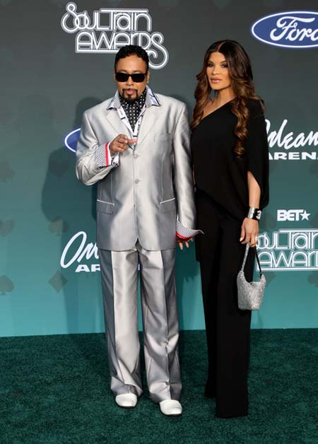 Lorena Day and Morris day got married soon after his first divorce.