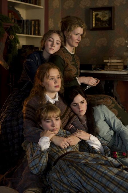 As mentioned above, the four sister cast actors with Meryl Streep as Aunt March.
