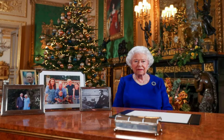 Meghan Markle and Prince Harry Left Out of Queen Elizabeth's Christmas Speech Photos