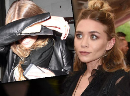 Ashley Olsen reportedly got a bad reaction from chemicals after a facelift.