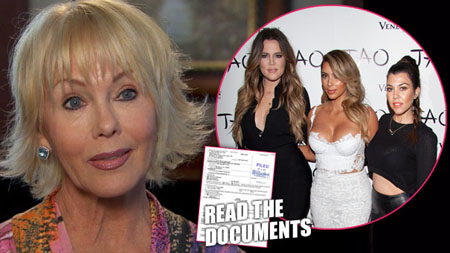Kris Jenner filed a lawsuit against the Ellen Piersen for the release of Robert Kardashian's diary.
