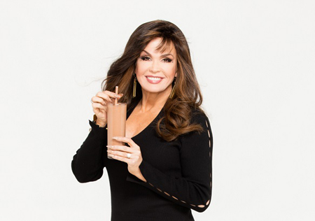 Marie Osmond was able to lose weight because of her embracing Nutrisystem program.