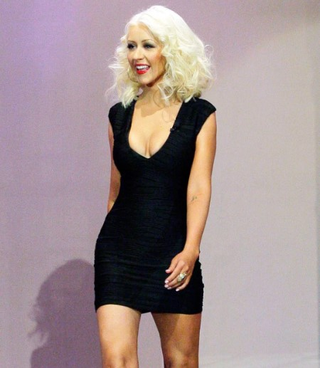 Christina Aguilera weight loss.