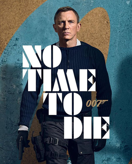 No Time To Die is the final movie featuring Daniel Craig in the iconic James Bond role.