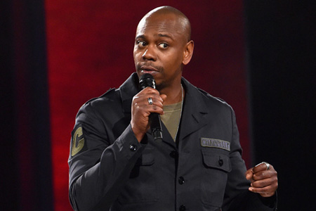 Dave Chappelle is a comedian who is known for his unique brand of insult comedy.