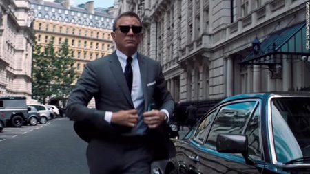 James Bond played by Daniel Craig will be back for one last ride on No Time To Die.