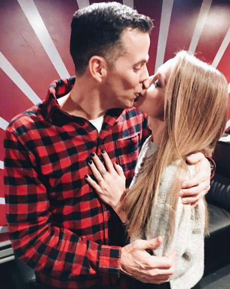 Steve O and Lux Wright are engaged for almost two years with marriage not currently in sight.