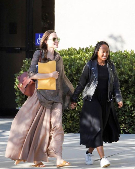 Zahara Marley Jolie-Pitt is the second child Angelina Jolie adopted.