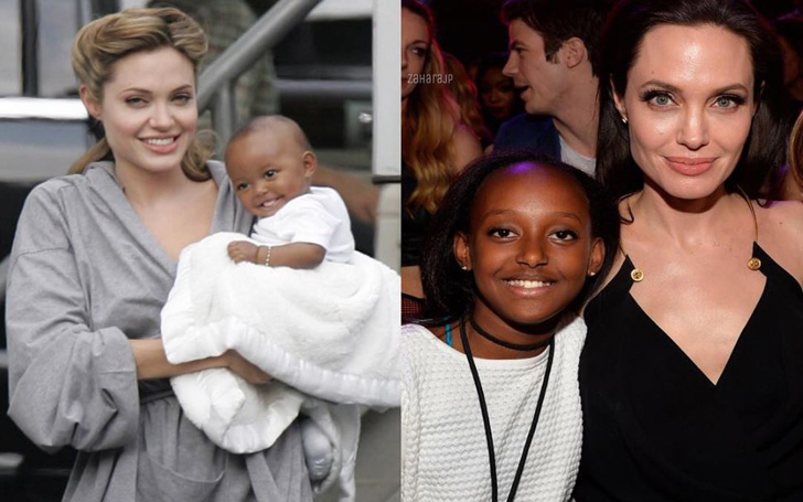 Meet Zahara Marley Jolie-Pitt - Daughter of Angelina Jolie and Brad Pitt
