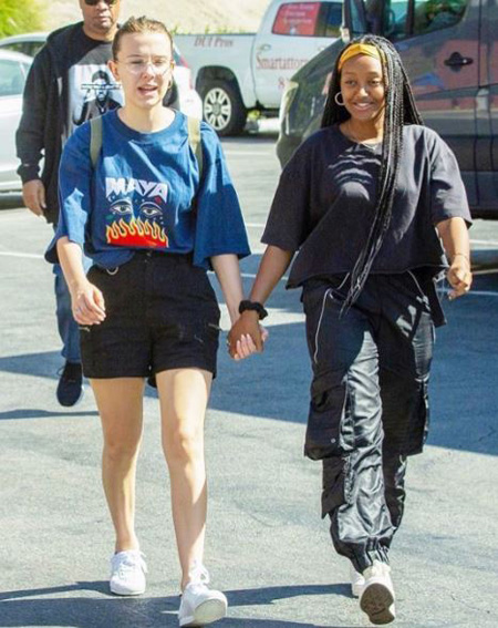 Zahara Marley Jolie-Pitt and Millie Bobby Brown became good friends lately.