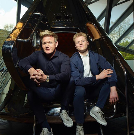 Jack Scott Ramsay is the eldest son of Gordon Ramsay.