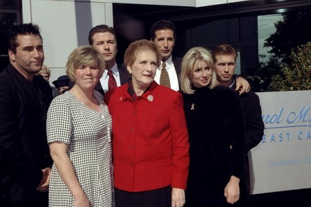 Mother Carol with all her children, the Baldwin Siblings.