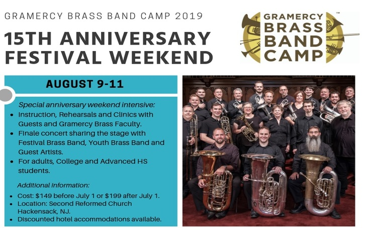 The Gramercy Brass Orchestra Of New York Will Host Its 15th Annual Band Camp Near Manhattan In August