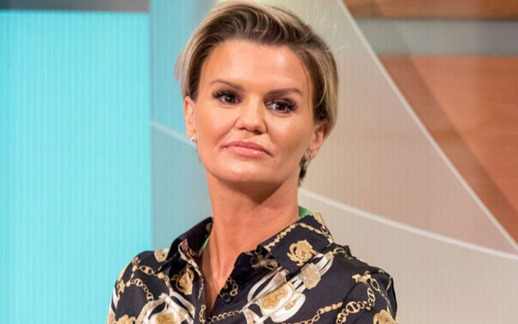Kerry Katona Hits Back At Critics For Slamming Her Over Topless Burger Picture
