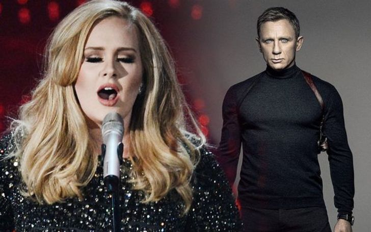 Daniel Craig Wants Adele To Record The Bond Theme Again