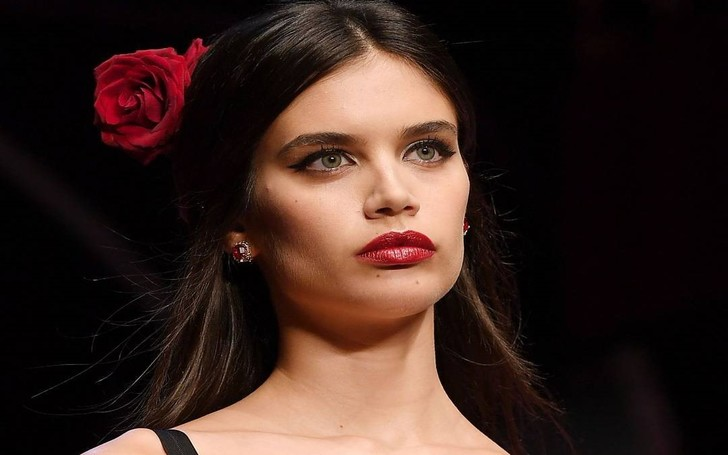 Sara Sampaio Flaunts Her Incredible Figure In A Daring Victoria's Secret Lingerie