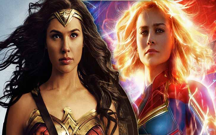 Wonder Woman Vs. Captain Marvel - Who Is The Strongest Female Superhero?