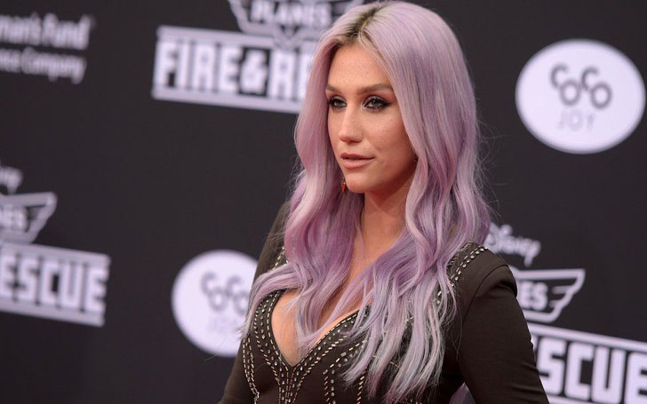 Kesha Looks So Different After Dying Her Signature Blonde Hair