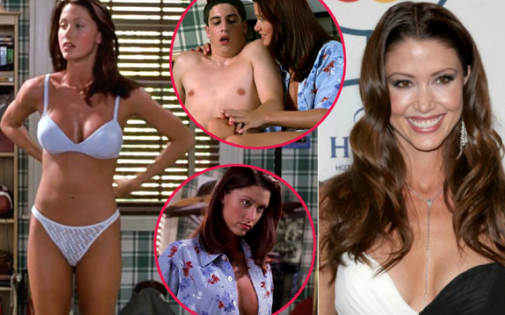 Shannon Elizabeth Recalls Infamous American Pie Webcam Scene 20 Years Later