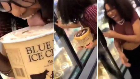A Woman Who Licked A Tub Of Blue Bell Ice Cream In A Grocery Store May Face 20 Years In Jail