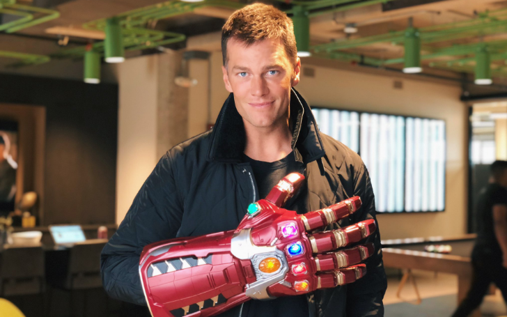 Tom Brady Makes An Epic Social Media Post Wearing Thanos' Infinity Gauntlet