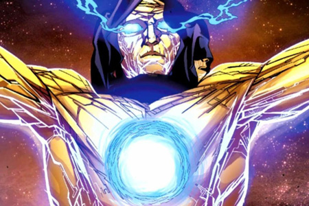 The Living Tribunal in his full glory.