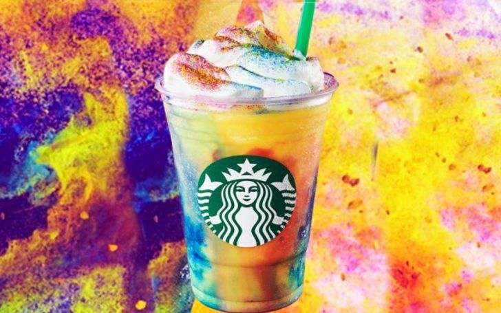 Starbucks Is Set To Launch A Tie-Dye Rainbow Frap