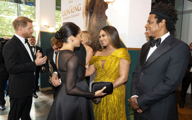 Meghan Markle And Prince Harry Attended The Lion King Premiere This Weekend Leading To The Ultimate Power Meeting