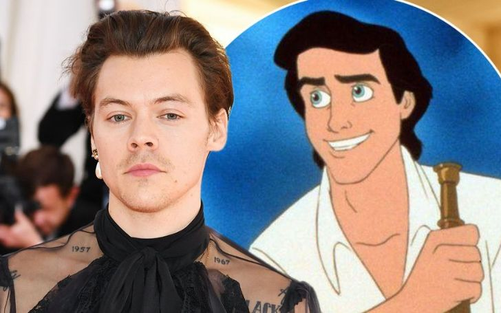 Is Harry Styles Set To Play Prince Eric In The Little Mermaid Remake?