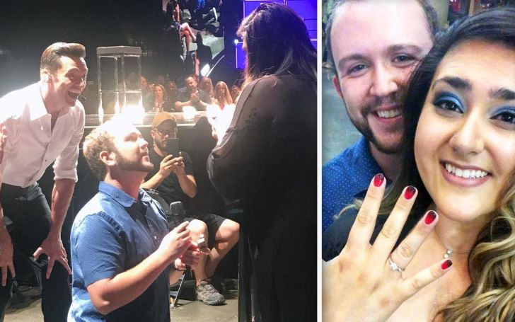 Hugh Jackman Comes To The Aid Of A Man Proposing His Girlfriend