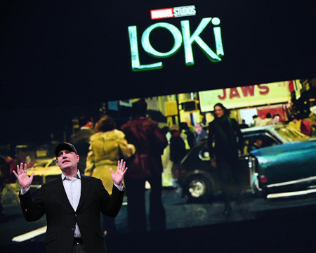 Kevin Feige explains the Loki show.