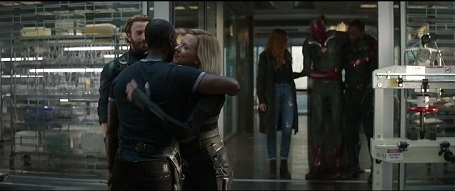 The Avengers meet-up. Well, some of them. Avengers: Infinity War [2018]
