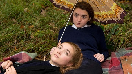 Maisie Williams and Florence Pugh in 'The Falling' [2014]
