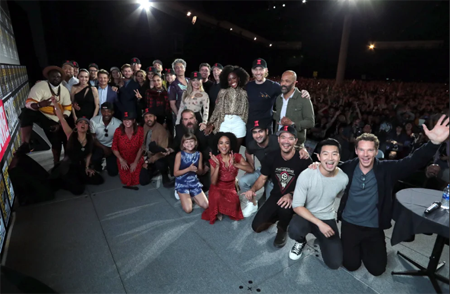 The cast of MCU phase 4 at SDCC.