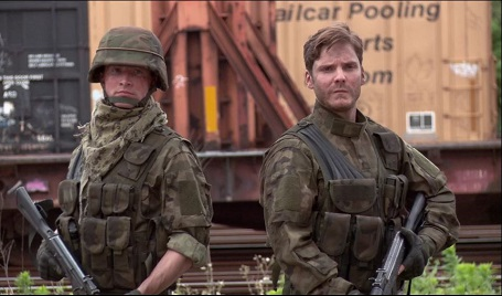 Helmut Zemo (right) during his time at EKO Scorpion