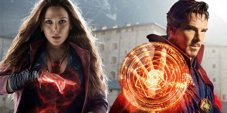 Doctor Strange and Scarlet Witch.
