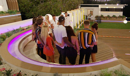 The Love Island contestants.