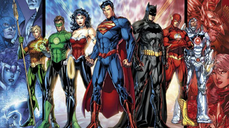 Justice League from the comics.