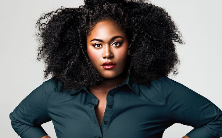 Danielle Brooks' Baby Bump Sparkled In Its Red Carpet Debut For Orange Is The New Black