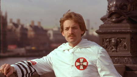 David Duke in his regalia.