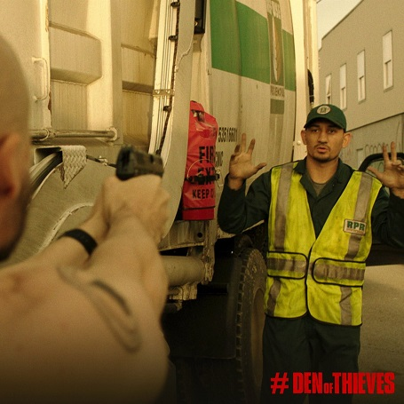 Max Holloway in Den of Thieves