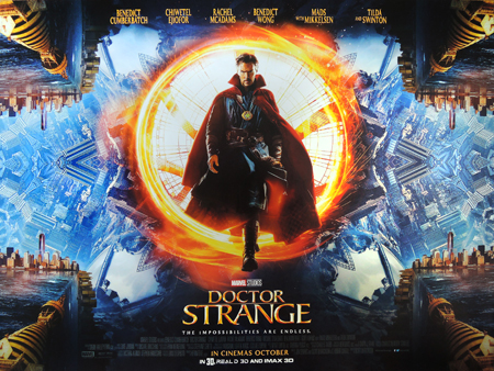 The poster for the first Doctor Strange movie.