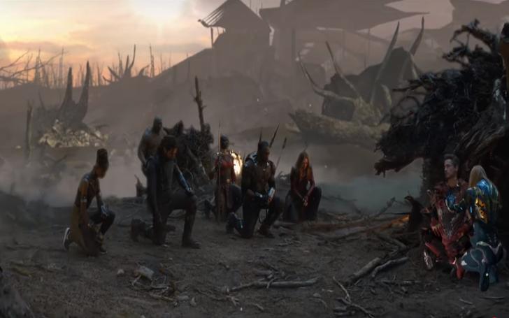 Why Was The Emotional Scene Of Superheroes Kneeling To