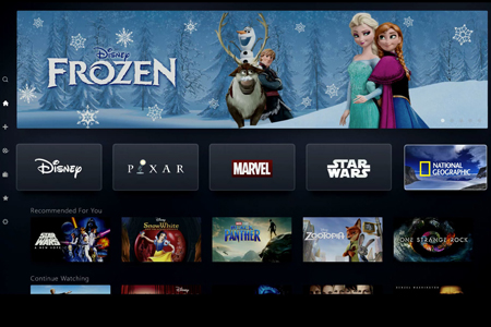 Disney plus is coming.
