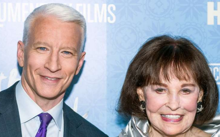 Anderson Cooper Is Set To Receive Most Of What His Late Mother Gloria Vanderbilt Left Behind