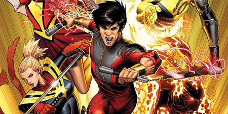 Shang Chi is seen on the comic cover of the character.