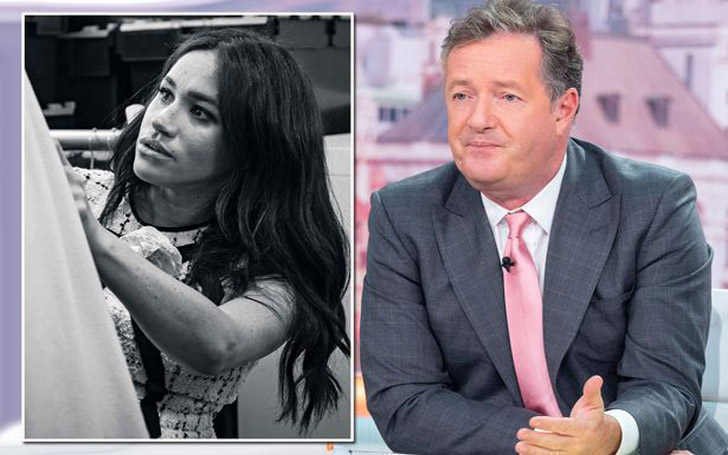 "Piers Morgan Launched A Fresh Attack On Meghan Markle Accusing Her Of Caring More About ""Promoting Herself Than The Royal Family"""