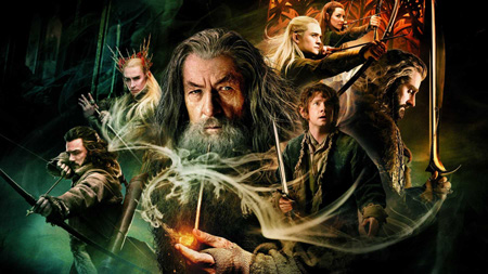The poster for Hobbit: Desolation of the Smaug.