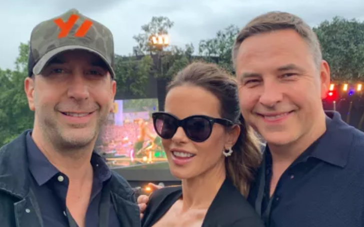 David Schwimmer, Kate Beckinsale And David Walliams Watched Stevie Wonder Together
