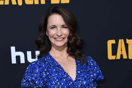 Kristin Davis at the premiere of Catch 22.